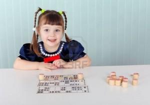 enfant au bingo